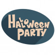 Stock Vector: Halloween party.