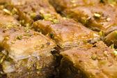 Baklava - traditional middle east sweet desert — Stock Photo
