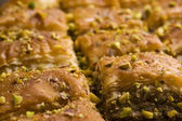 Baklava - traditional middle east sweet desert — Stock Photo