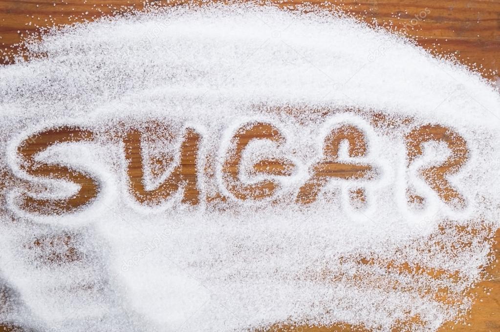 The word sugar ...