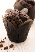 Chocolate cupcake — Foto de Stock