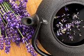 Lavender tea — Stock Photo