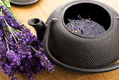 Lavender tea — Stock Photo