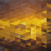 Geometric grungy retro background. — Stok Vektör