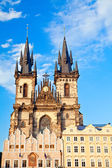 Tyn Church In Prague — 图库照片