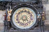 Part Of Prague Clock — Stock Photo