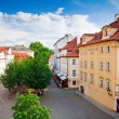 Foto Stock: Street in Prague