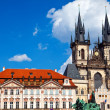 Tyn Church, Prague — Stock Photo #13786284