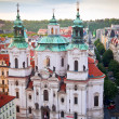 St. Nicholas Church in Prague — Stock Photo #18420727