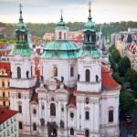 St. Nicholas Church in Prague — Stock Photo #18420727