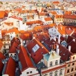 Prague Houses From Above — Stock Photo