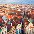 Prague Architecture From Above — Stock Photo