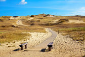 Curonian Spit, Lithuania — Stock Photo