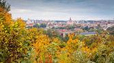 Podzim ve vilniusu — Stock fotografie