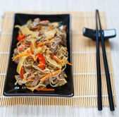 Chinese rice noodles — Stock Photo