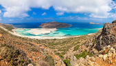 Panorama of Balos Lagoon — Stock Photo