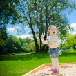 Girl With Soap Bubbles — Stock Photo #31571771