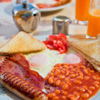 Traditional english breakfast — Stok fotoğraf