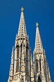 Votivkirche - Votive Church — Stock Photo