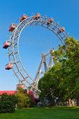 Ferris wheel Prater — Stock Photo