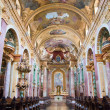 Stock Photo: Interior of Jesuit Church, Vienna