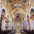 Interior of the Jesuit Church, Vienna — Stock Photo