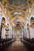 Interior of the Jesuit Church, Vienna — Stock Photo