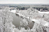 Vilnius Under Snow — Foto Stock