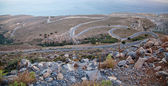 Winding road in Crete — Stock Photo