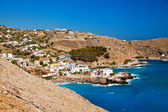 Little village Chora Sfakion — Stock Photo