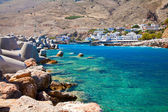 Small village Chora Sfakion, Crete — Stock Photo