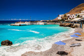 Playa de chora sfakion — Foto de Stock