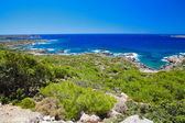 Coastline at the south-west Crete — Stock Photo