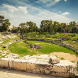 Roman amphitheatre of Syracuse — Stock Photo #48472077
