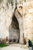 Ear of Dionysius, Syracuse, Sicily — Stock Photo