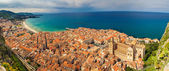 Panoramic view of Cefalu — Stock Photo