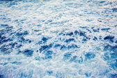 Blue sea background — Stock Photo