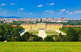Viena e schonbrunn park — Foto Stock