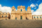 Baroque style Noto Cathedral — Stock Photo