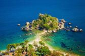 Isola bella em taormina — Fotografia Stock