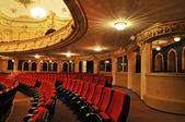 Theater - interior view — Foto de Stock