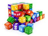 Heap software concept — Stock Photo