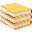 Computer folders stack — Stock Photo #22033535