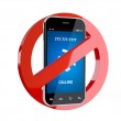 No cell phone sign — Stock Photo #27506777