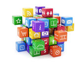 Software app concept — Stock Photo