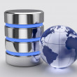 Global storage concept — Stock Photo