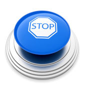STOP icon button — Stock Photo