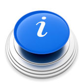 Info sign button — 图库照片