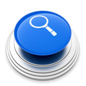Magnifier glass sign button — Stock Photo