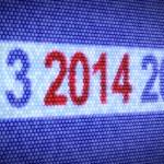 2014 år — Stockfoto